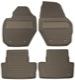 Floor accessory mats Rubber brown 39822900 (1039921) - Volvo XC60 (-2017)