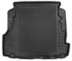 Trunk mat black Synthetic material Rubber  (1040057) - Volvo S80 (-2006)