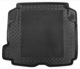 Trunk mat black Synthetic material Rubber  (1040060) - Volvo S60 (-2009)