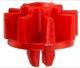 Mutter Kunststoff Türverkleidung Armlehne 1264871 (1040127) - Volvo 140, 200