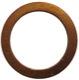 Seal ring Master brake cylinder Hollow screw 18817 (1041097) - Volvo PV