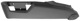 Side panel, Seat Drivers seat outer left black-grey 39802011 (1042098) - Volvo S60 (-2009), S80 (-2006), V70 P26, XC70 (2001-2007), XC90 (-2014)
