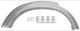 Zierleiste, Radlauf hinten rechts 30794164 (1042124) - Volvo XC90 (-2014)