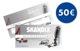 Gift certificate 50 EUR  (1042206) - universal