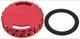 Verschlussdeckel, Ölpeilstab rot  (1043877) - Saab 9-3 (-2003), 9-5 (-2010)