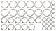 Spacer, Differential Kit  (1044117) - Volvo 120 130, 140, 200, 700, P1800, P1800ES, PV