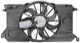Electrical radiator fan 31261987 (1044591) - Volvo C30, C70 (2006-), S40 V50 (2004-)