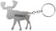 Key fob Bottle opener Elk SKANDIX Logo  (1045179) - universal
