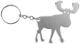 Schlüsselanhänger Flaschenöffner Elch SKANDIX Logo