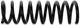 Fahrwerksfeder Hinterachse Nivomat-Feder  (1045294) - Volvo 850, S70 V70 (-2000)