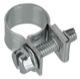 Schlauchschelle 6 mm 8 mm starr alte Ausführung  (1045586) - universal