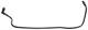 Kraftstoffleitung Motor - Tank Rücklauf 12759719 (1046109) - Saab 9-5 (-2010)