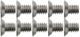 Schraubensatz, Zierleiste Rahmen Seitenscheibe  (1047185) - Volvo 120 130 220, PV