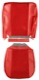 Upholstery Front seat red Kit for one Seat  (1047258) - Volvo 120 130