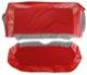 Bezug, Polster Rückbank rot Satz  (1047259) - Volvo 120 130