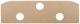 Innenverkleidung Ablagefach Rückbank unterer Teil ohne Bezug Hartfaser (HDF)  (1047362) - Volvo P1800