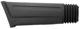 Bumper cover side rear left black 1392922 (1047561) - Volvo 700