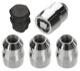 Rim lock set  (1047844) - Volvo 120 130 220, 140, 164, 200, P1800, P1800ES, PV