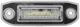 Licence plate light  (1047855) - Volvo C70 (2006-), S40 V50 (2004-), S60 (2011-2018), S60 XC (-2018), S80 (-2006), V50, V60 (2011-2018), V60 XC (-18), V70 XC70 (2008-), XC60 (-2017), XC90 (-2014)
