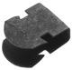 Clip Headlining Seat Air baffle plate 1313440 (1048246) - Volvo 200, 700, S80 (-2006)