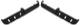 Ablage Tür schwarz Satz für beide Seiten  (1048837) - Volvo 200