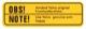 Information sign Kühlerfrostschutz  (1049442) - Volvo 120 130 220, 140, P1800, PV P210