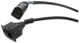 Cable, Sensor Headlight range adjustment Front axle