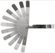 Feeler gauge inch Kit 12 -piece  (1050482) - universal