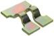 Clip Clutch pedal 1272227 (1050741) - Volvo 200, 700