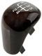 Symbol, Shift knob cap 30618299 (1051607) - Volvo S40 V40 (-2004)