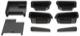 Ablage Tür Mittelkonsole Satz 5 -teilig  (1051855) - Volvo S60 (2011-2018), V60 (2011-2018)