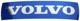 Emblem Radiator grill Volvo adhesive gel label 28 mm 115 mm 31214625 (1052400) - Volvo C30, C70 (2006-), S40 (2004-), S60 (2011-2018), S80 (2007-), V40 (2013-), V40 XC, V50, V60 (2011-2018), V70 (2008-), XC70 (2008-), XC90 (-2014)