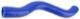 Radiator hose upper Engine cooler - Termostat housing Silicone 270615 (1052416) - Volvo 200