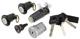 Lock set, Locking system 6846129 (1053361) - Volvo 700, 900