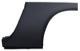 Reparaturblech, Seitenwand Ecke Schweller / Radlauf hinten links hoch  (1054325) - Volvo P1800, P1800ES
