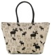 Bag Elk black-white Organic cotton  (1055201) - universal
