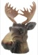 Cap, Ball head Trailer hitch Elk head  (1055207) - universal