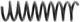 Fahrwerksfeder Hinterachse 9461883 (1055394) - Volvo S70 V70 V70XC (-2000)