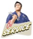 Oil Service reminder Tag Oil Change (vintage)  (1055470) - universal