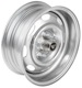 Rim Steel 5,5x15 ET10 Kronprinz Design with stainless hub cap with wheel nut 613014 (1055579) - Volvo 120 130 220, P1800, PV