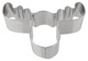 Cookie cutter Elk head Stainless steel  (1055947) - universal