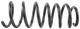 Fahrwerksfeder Hinterachse Nivomat-Feder 8666290 (1056192) - Volvo V70 P26, XC70 (2001-2007)