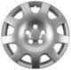 Radkappe silber 16 Zoll für Stahlfelgen Stück 12768993 (1056293) - Saab 9-3 (2003-)
