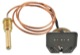 Gauge, coolant temperature with Capillary tube sensor 88629 (1057813) - Volvo P445, PV