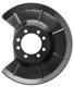 Spritzblech, Bremsscheibe für links und rechts passend Hinterachse 30666360 (1058107) - Volvo C30, C70 (2006-), S40 V50 (2004-)