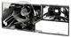 Reflector, Headlight right 3518595 (1058586) - Volvo 700, 900