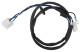 Harness, Headlight H4 R2 (Bilux) 668073 (1059037) - Volvo P1800, P1800ES