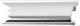Drip rail moulding left centre Section 1325011 (1059048) - Volvo 700