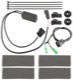 Harness, Sill plate with Illumination front Upgrade kit 9487102 (1060053) - Volvo V70 XC70 (2008-)