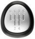 Symbol, Shift knob cap 55566208 (1060357) - Saab 9-3 (2003-)